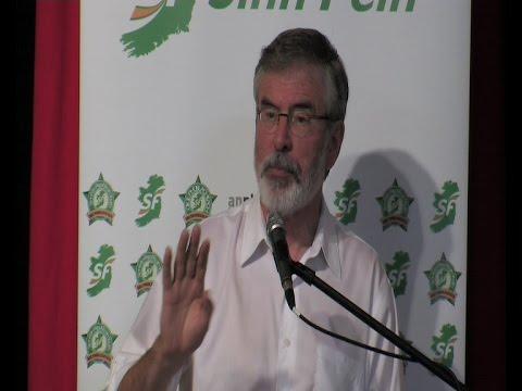 Gerry Adams keynote address to Sinn Féin 'Think in'