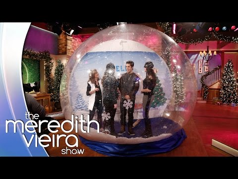Austin Mahone Plays 'Celeb in a Snow Globe'! | The Meredith Vieira Show