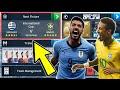 Brazil 🇧🇷 Vs 🇺🇾 Uruguay 🔥International Cup Semi Final ⚽ Dream League Soccer 2018