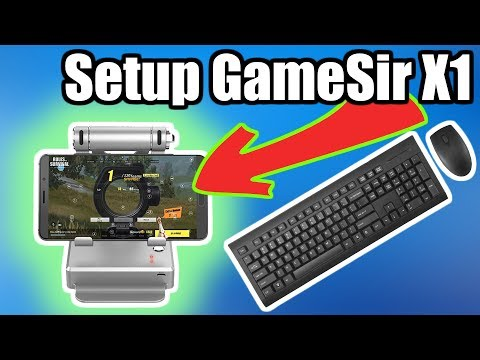 Setup Gamesir X1 - Keyboard / Mouse support for Android
