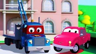 Carl Transform ve Ambulans, Araba Şehri'nde | Arabalar & Kamyonlar inşaat çizgi filmi çocuklar için