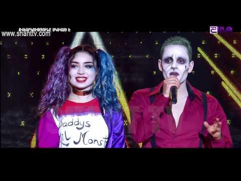 X-Factor4 Armenia-Gala Show 8-Emanuel Mariam-Suicide squad Soundtracks  09.04.2017
