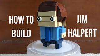 Lego Brickheadz Jim Halpert/The office