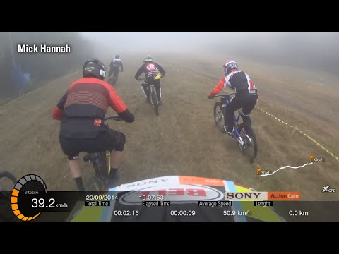 World first 10X MTB Downhill finals helmet cam