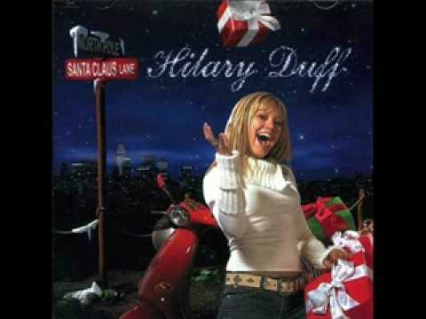 Hilary Duff jingle bell rock