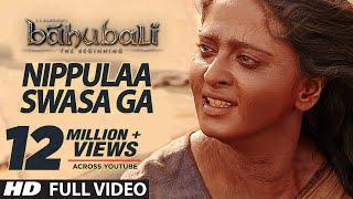 Nippule Swasaga Full Video Song Baahubali Telugu Prabhas Rana Anushka Tamannaah