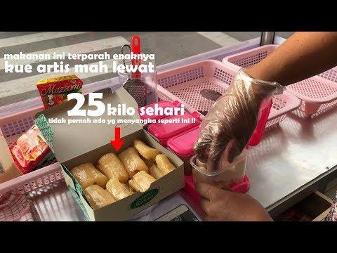 TERPARAH ENAKNYA !! KUE ARTIS LEWAT DENGAN MAKANAN INI | INDONESIA STREET FOOD #402