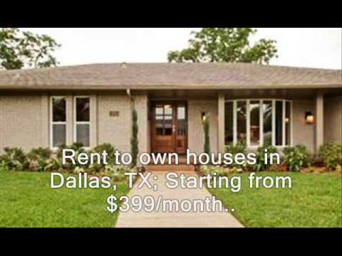 HomeStarSearch Rent To Own Homes In Dallas TX YouTube