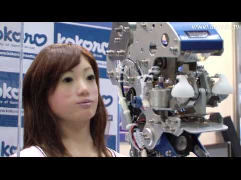Actroid Sara - The Worlds Most Human-like Robot #DigInfo
