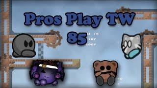 Teeworlds - Pros play TW 85: Mike Litt & Mini Joe First brutal !