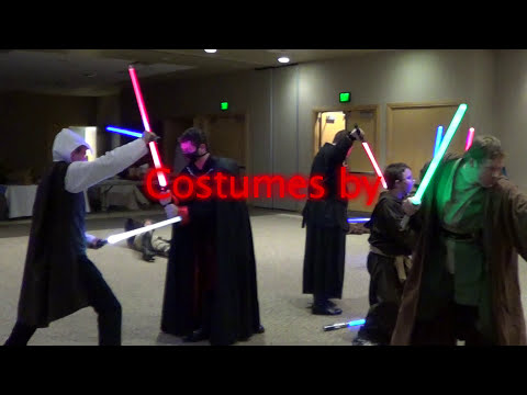 Star Wars Flash Mob/Lightsaber Battle (South Jordan, UT)