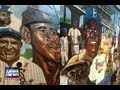 [WHITE SOX NEGRO LEAGUE MURAL]