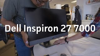 Unboxing (and partial teardown!) of the first Ryzen all-in-one | PC Dell Inspiron 27 7000