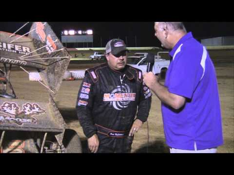 Trail-Way Speedway 358 Sprint Car Victory Lane 7-25-14