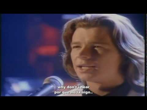 Rick Astley - Cry For Help (Subtitulada)
