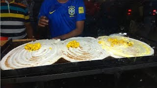 Indian Chennai Dosa, Chola Batura, Mirpur Street Food, Dhaka