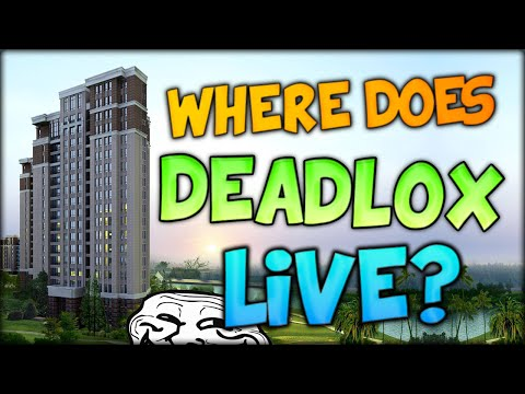 WHERE DOES DEADLOX LIVE AND THE SNOW TROLL (Minecraft)