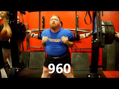Henry Thomason - Powerlifting Squat & Deadlift Training 01/06/13 @ BAG Image 1
