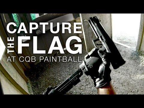 Capture the Flag at CQB Paintball - Pistol Play