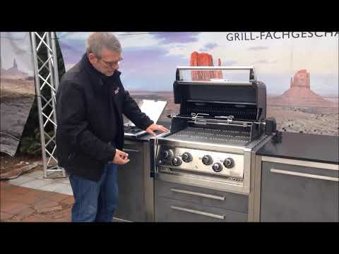 Outdoorküche BurnOut u. Broil King Gasgrill Imperial 490