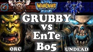 Grubby | Warcraft 3 TFT | 1.29 |  Bo5 - Grubby vs EnTe