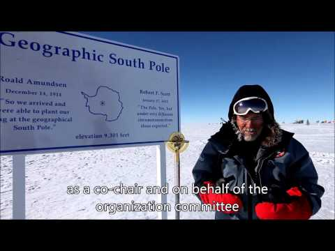 Invitación al HUPO 2014 desde el polo Sur