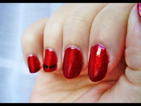 Desafío 31 días: día 1 uñas rojas / 31 Day Challenge: Day 1 red nails