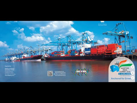 Inauguration of Maritime India Summit 2016