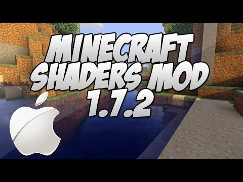 Minecraft 1.7.2 Shaders Mod with Optifine ( MAC Installation Tutorial)