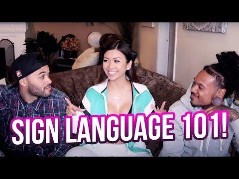 Learning Sign Language ft. Shaheem & Don Benjamin   Liane V