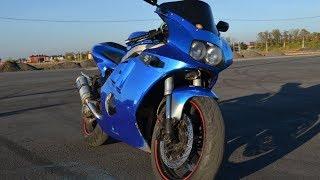 Обзор и тест-драйв Suzuki GSX-R400R. Самый лучший звук выхлопа, который я слышал!