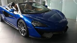 McLaren 570S Spider @ McLaren Factory