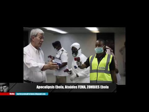 Apocalipsis Ebola y su conexión con los  Ataúdes FEMA, Ataque Zombie Ebola Urgente