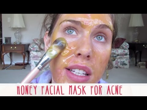 Honey Facial Mask For Acne! Natural Home Remedie Recipe For Anti- Acne: Cleansed. Smooth. Clear Skin