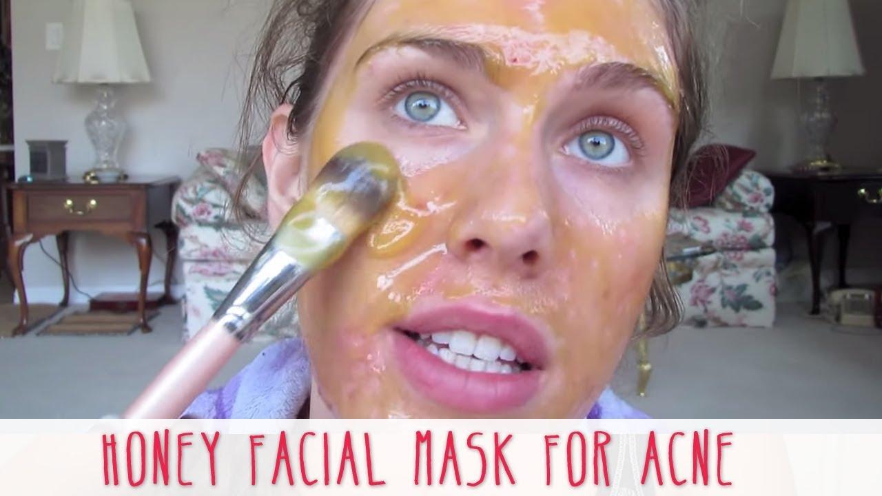 Homemade Honey Facial Mask For Acne