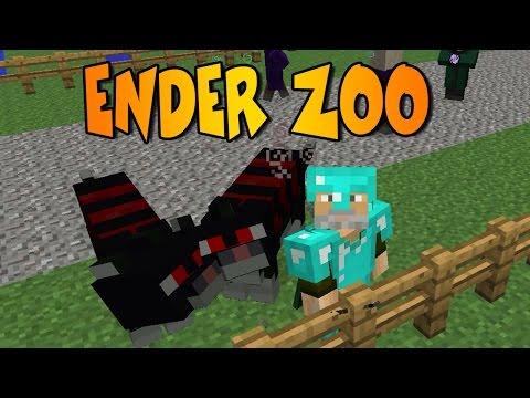 SUPER GATOS!!   ENDER ZOO MOD   Minecraft Mod Review