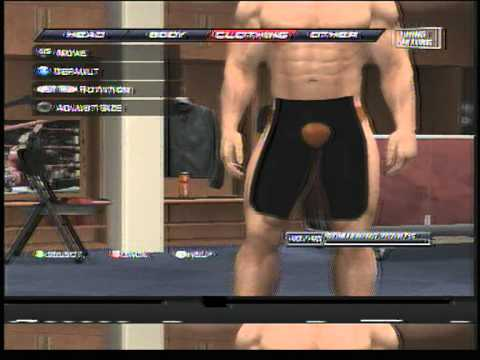 naked wwe male