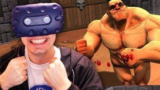 LUTA EM REALIDADE VIRTUAL!!! (MELHOR JOGO) - HTC VIVE PRO
