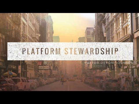 Platform Stewardship
