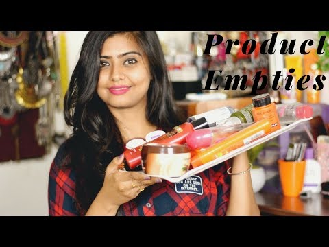 PRODUCT EMPTIES || Will I Repurchase These Products?? || Little Pixie Dust || Shalini Banik
