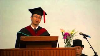 NYTEC COST HK 2012畢業禮 畢業生代表致詞