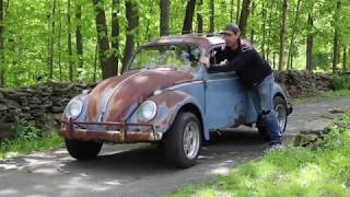 1958 Volkswagen Beetle Ragtop : Bringing the 58 Vw Bug Patina Ride to the Shop