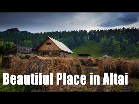 Beautiful Place in Altai - Russia