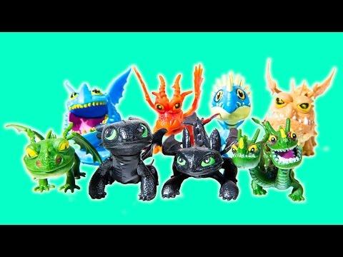 8 Pcs Set Como Treinar o Seu Dragão How to Train Your Dragon Toothless Figures PVC Vinil Crianças