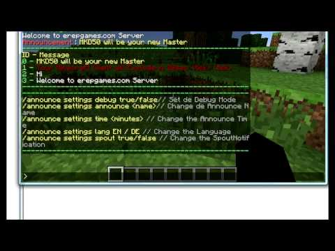 Simple Auto Announcer for Minecraft Bukkit (Plugin Review)