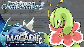 MEGAnium Pokemon Showdown PU Team Building w. macadii (Smogon ORAS PU Team)
