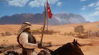 Battlefield 1 - Epic Ottoman Cavalry Charge / Efsane Osmanlı Süvari Atağı