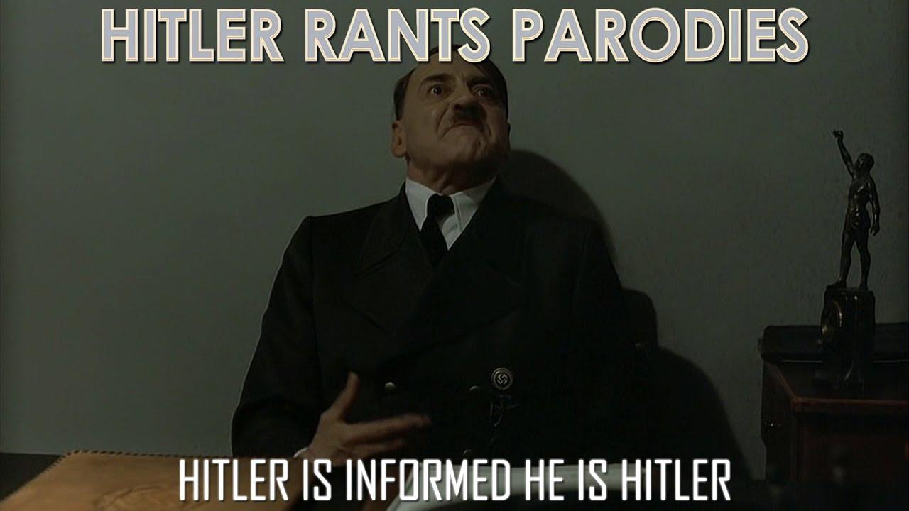 Hitler is informed he is Hitler