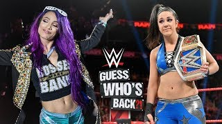 Sasha Banks' WWE RETURN Is Officially CONFIRMED & Set To Happen With a Surprising Twist - WWE Raw