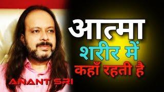 आत्मा शरीर में कहाँ रहती है - Anant Sri